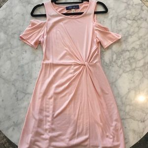 Soft Pink Short Dress